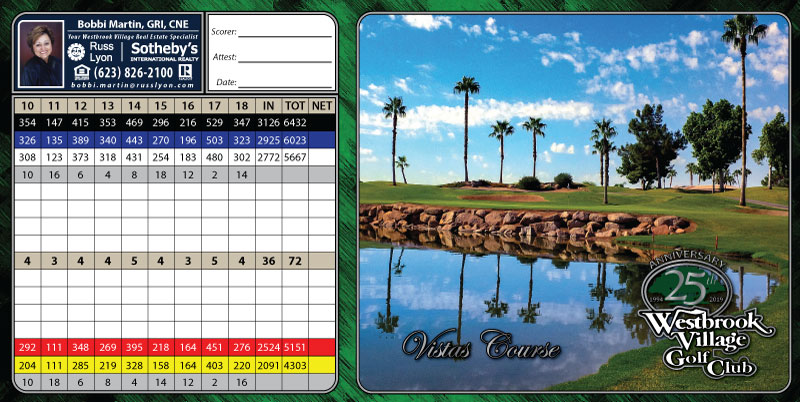 Vistas Back Scorecard